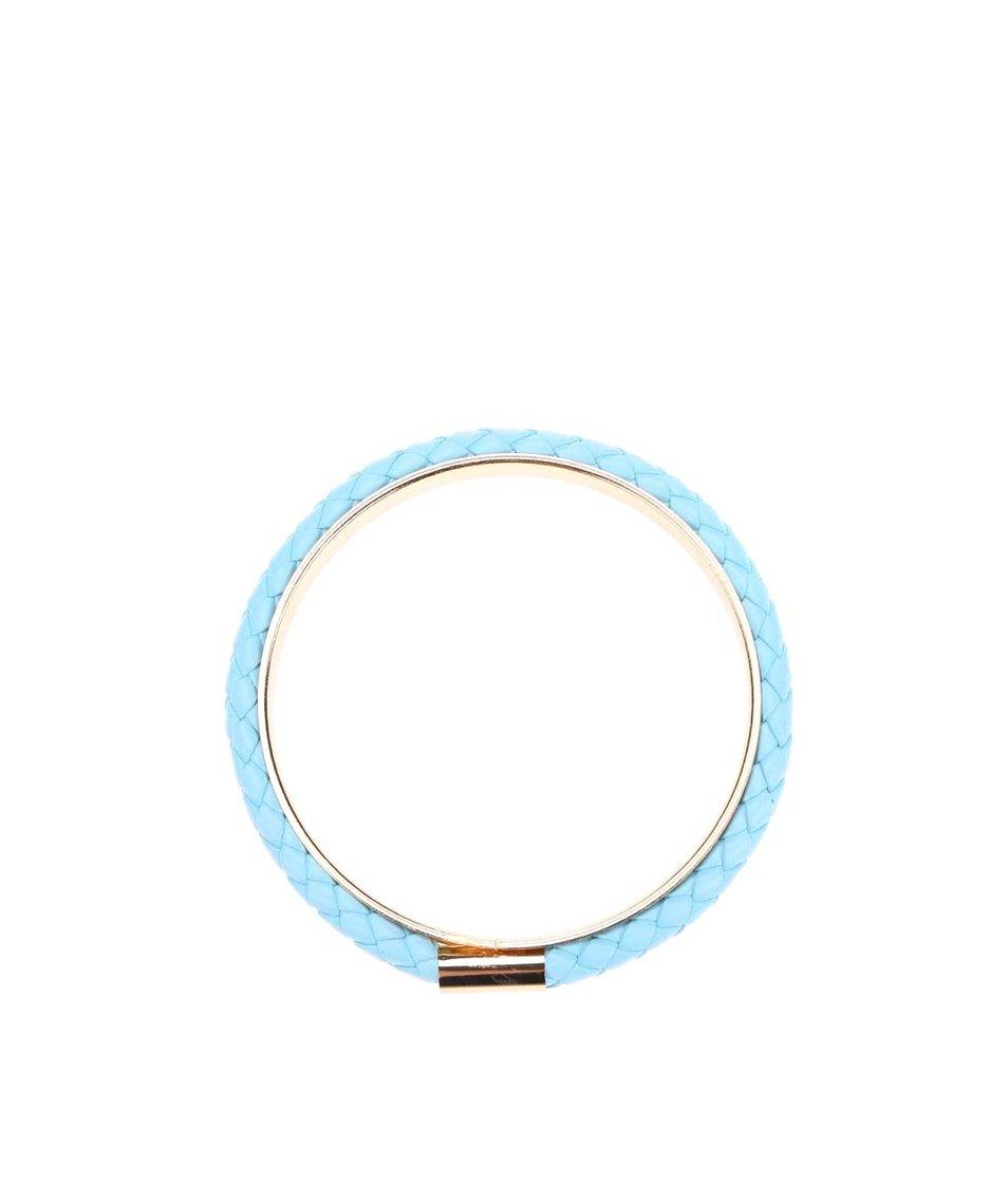 Modrý náramek s detailem ve zlaté barvě Designsix Sisley