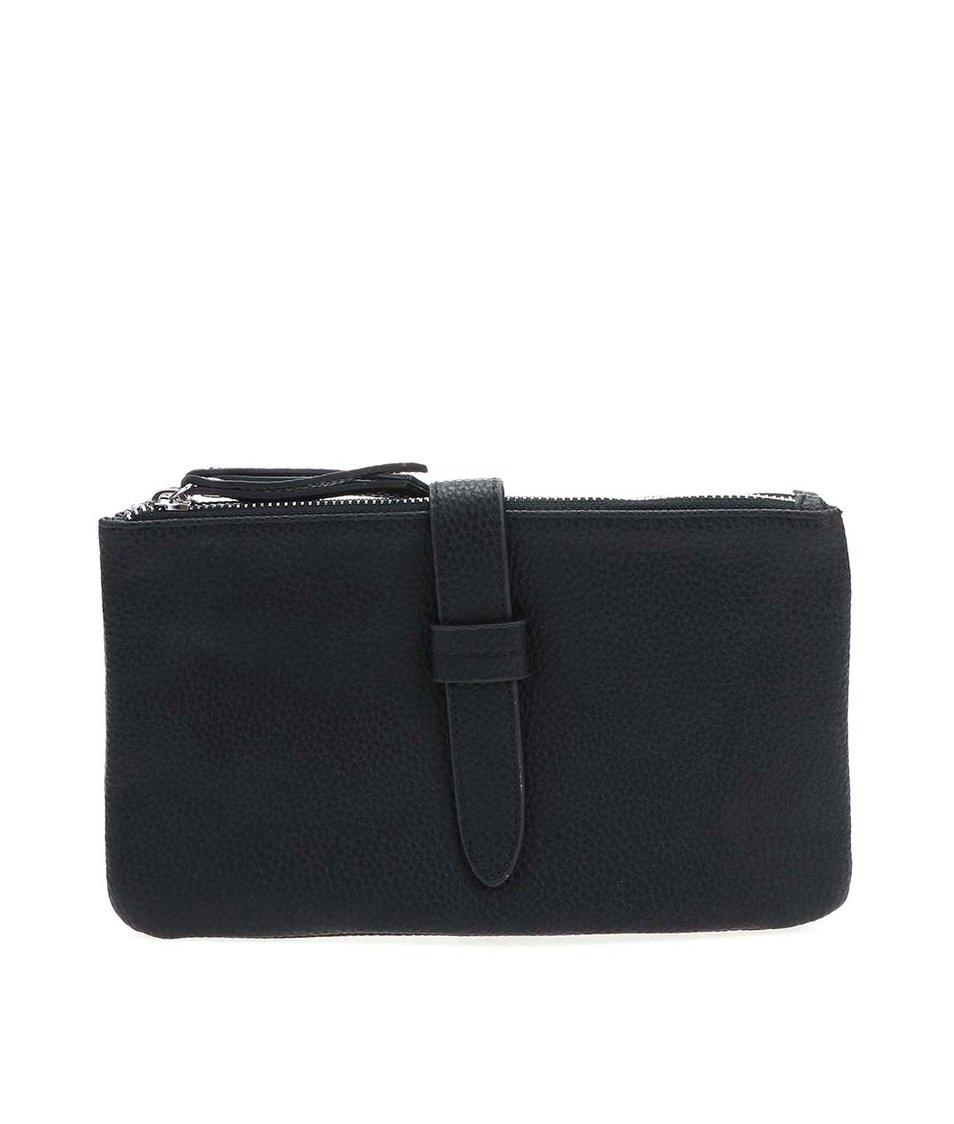 Černé psaníčko/kabelka přes rameno Pieces Dana