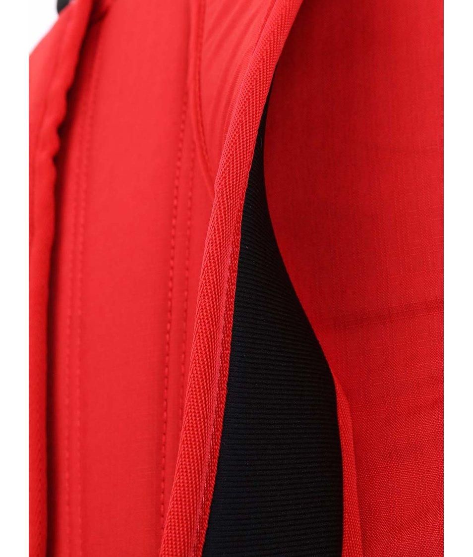 Černo-červený unisex batoh Burton Apollo
