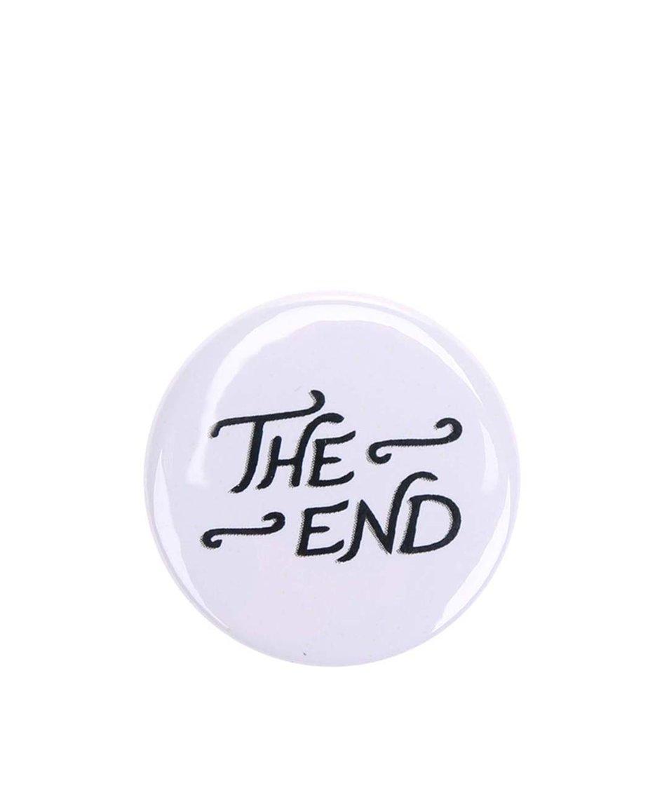 Bílá placka ZOOT Originál The End