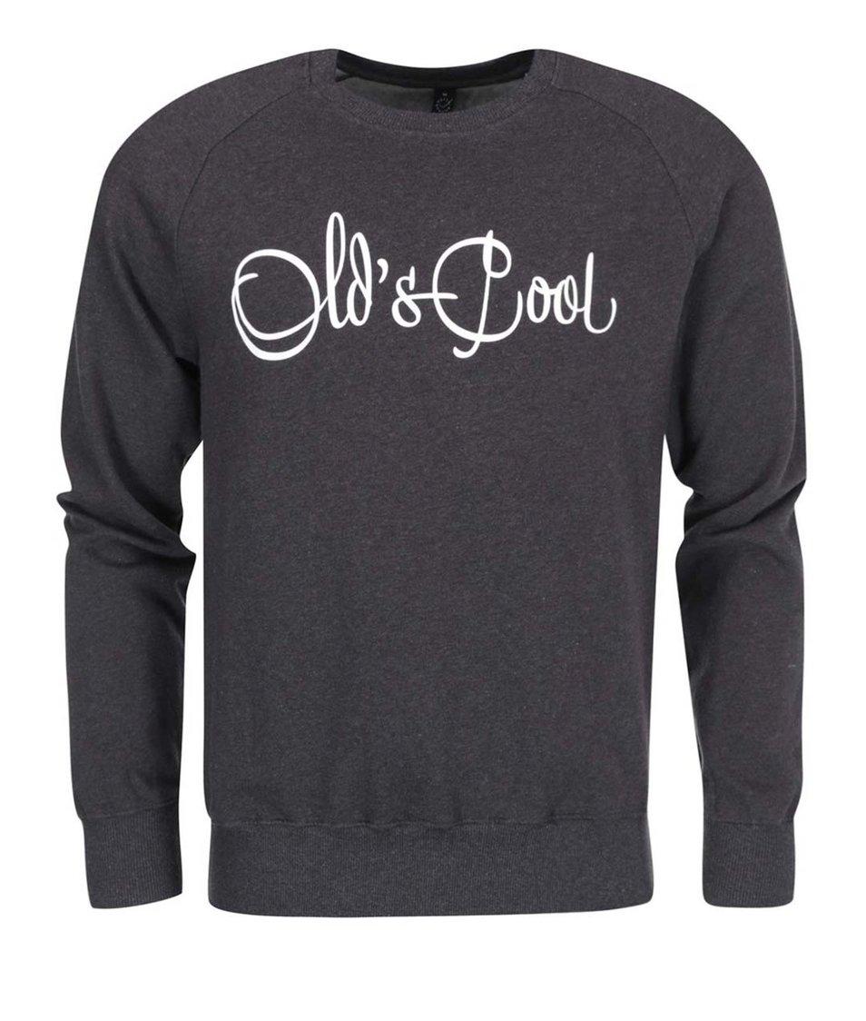 """Dobrá"" šedá mikina Elpida Old´s Cool"