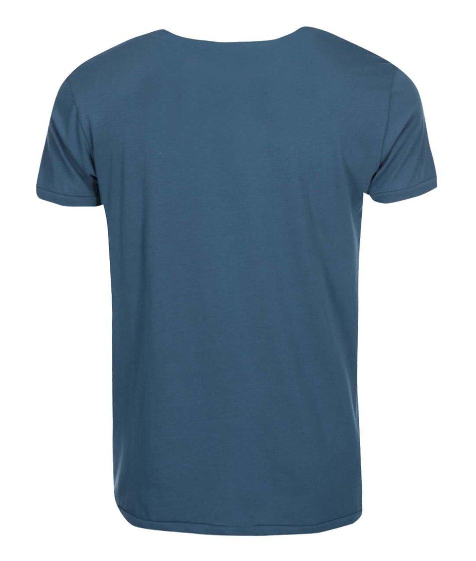 Modré triko Shine Original Curved