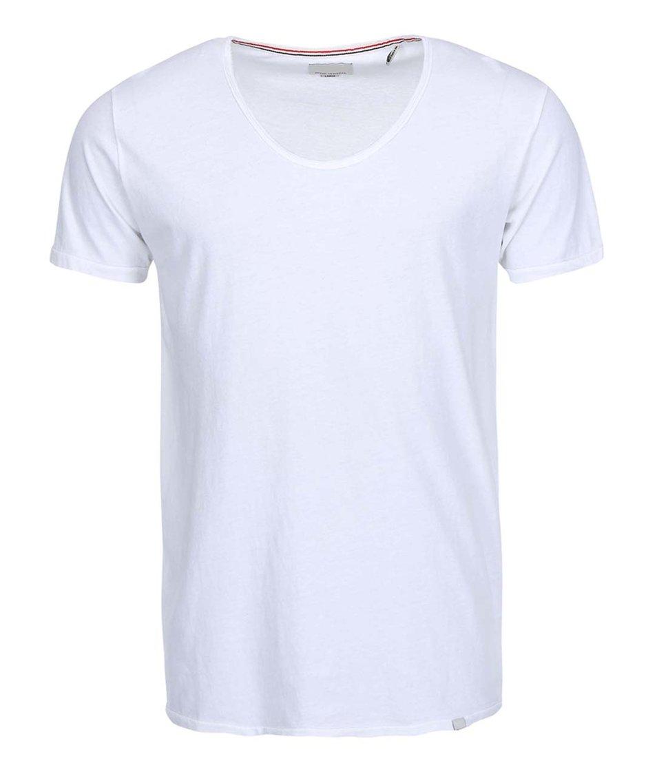 Bílé triko Shine Original Curved