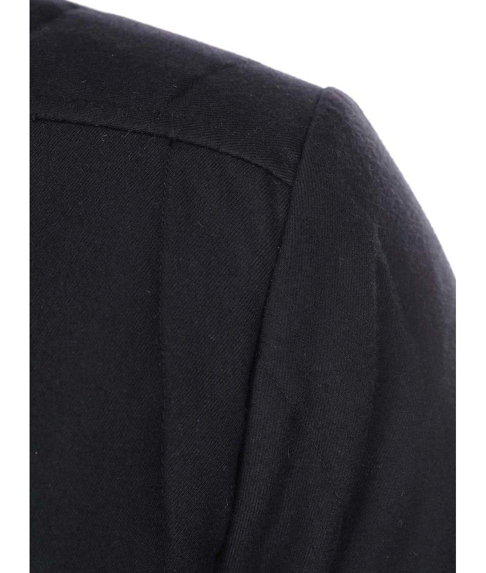 Černá slabší prošívaná bunda Shine Original