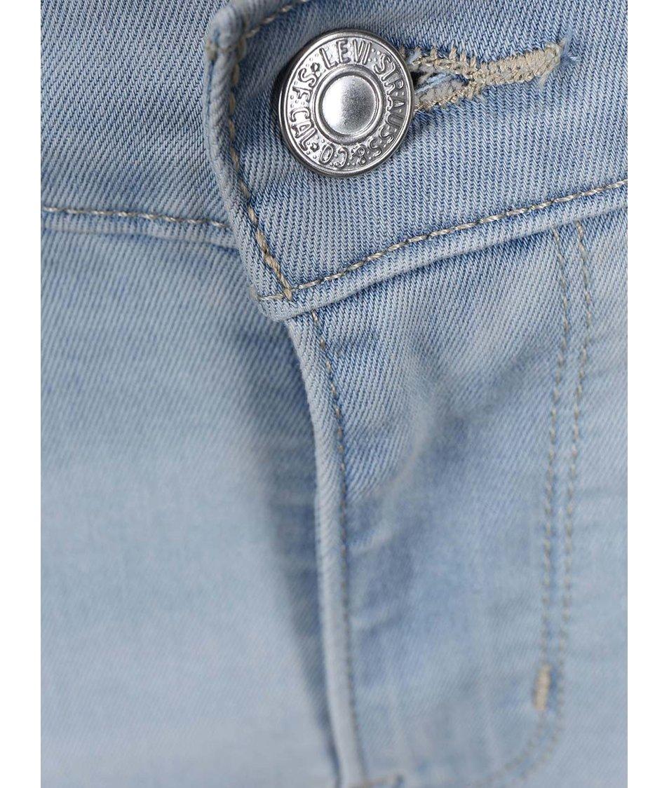 Světlé modré dámské super skinny džíny Levi's®