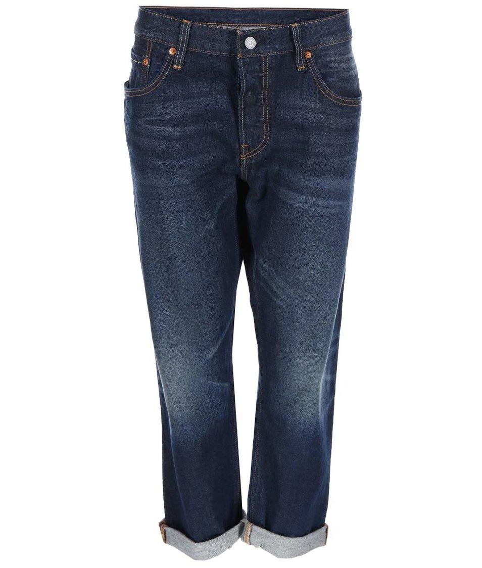 Modré dámské osminkové džíny Levi's®