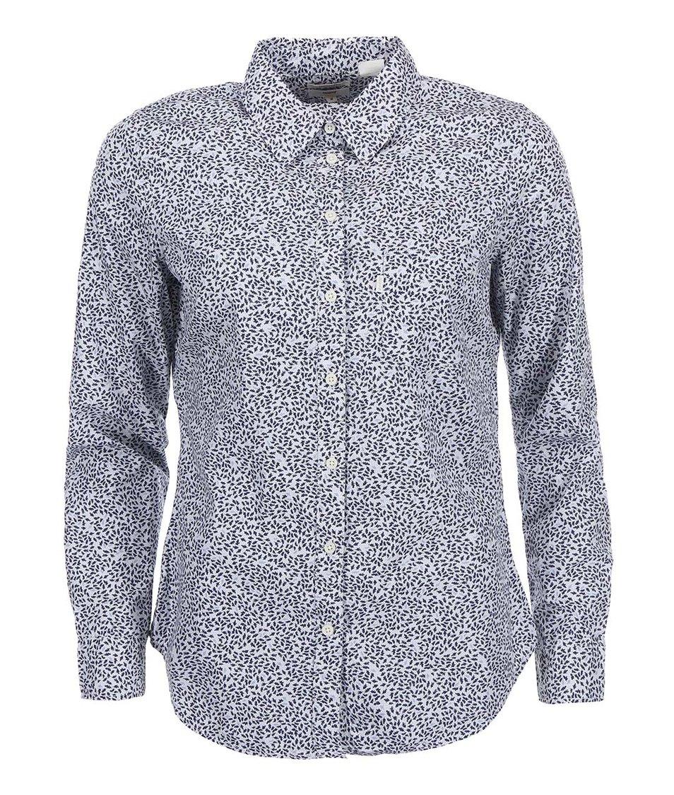 Bílo-modrá dámská vzorovaná košile Levi's®