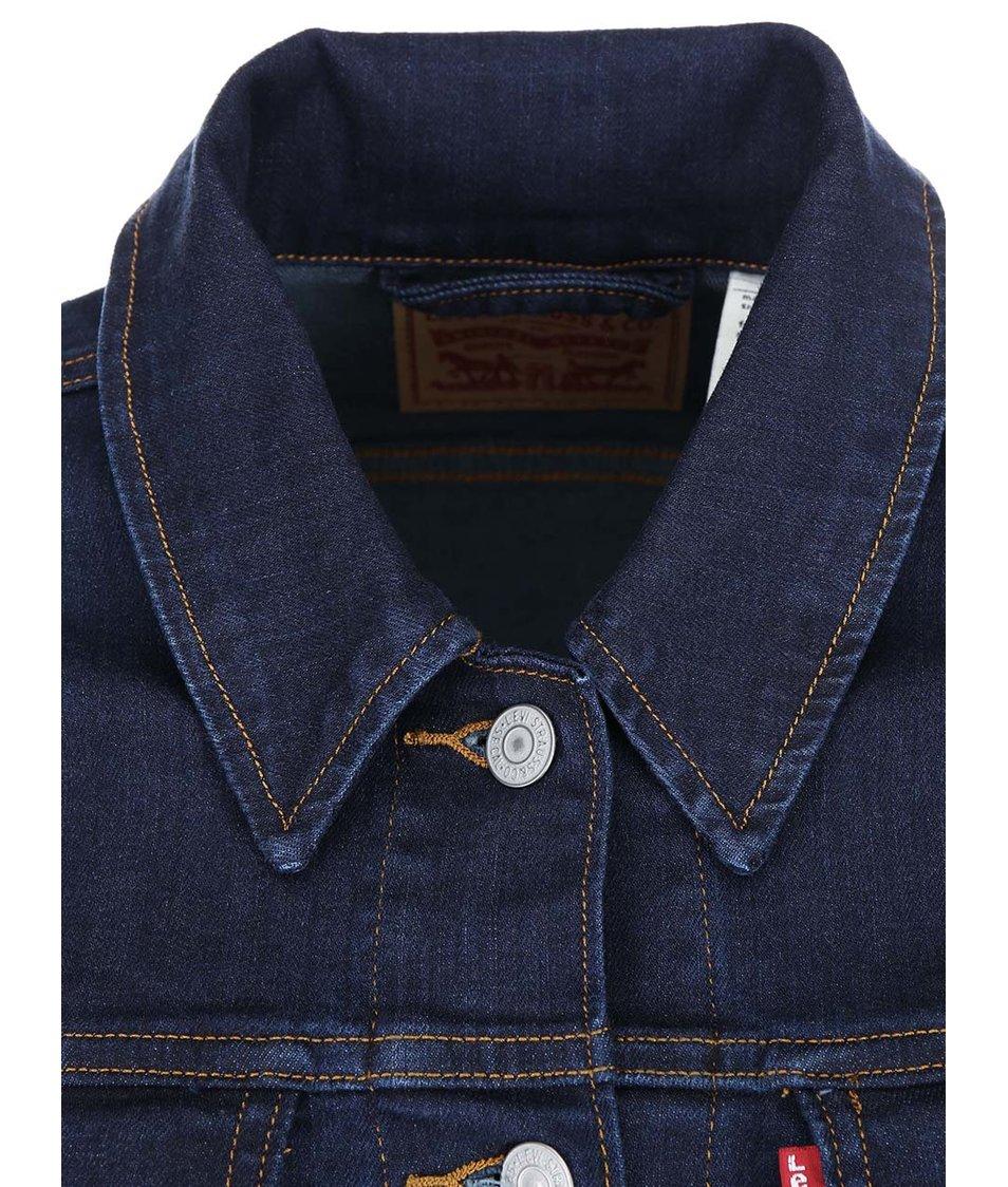 Tmavě modrá dámská džínová bunda Levi's®