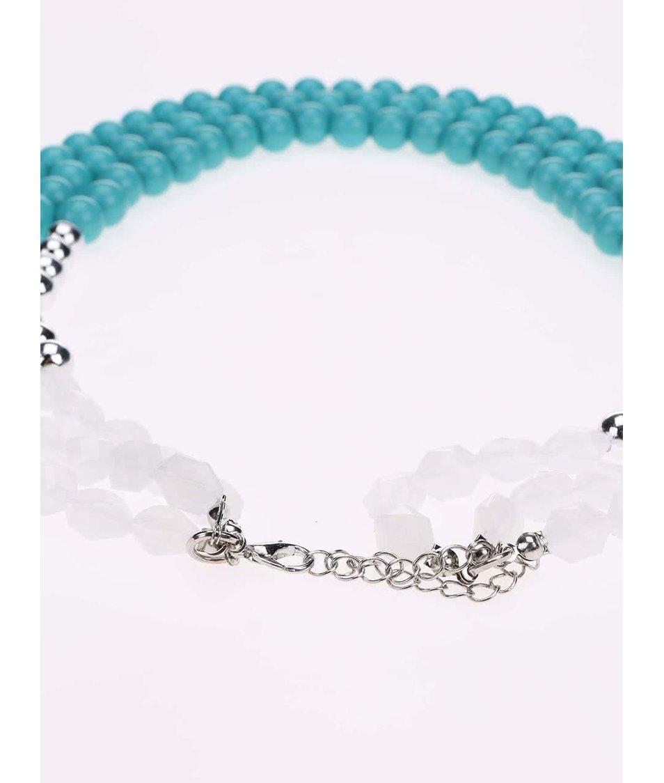 Tyrkysový korálkový náhrdelník Madonna Alina