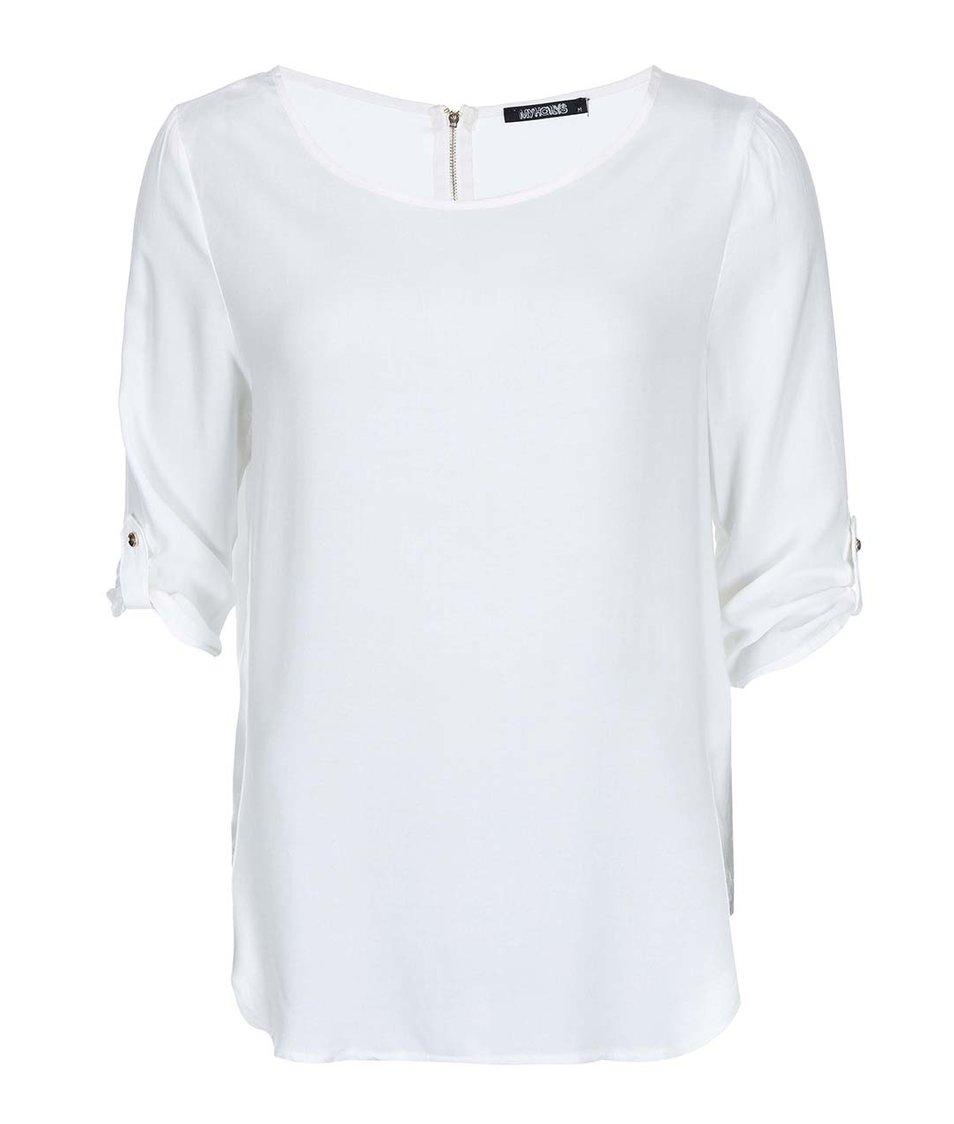 Bílý top s 3/4 rukávy Haily´s Mara