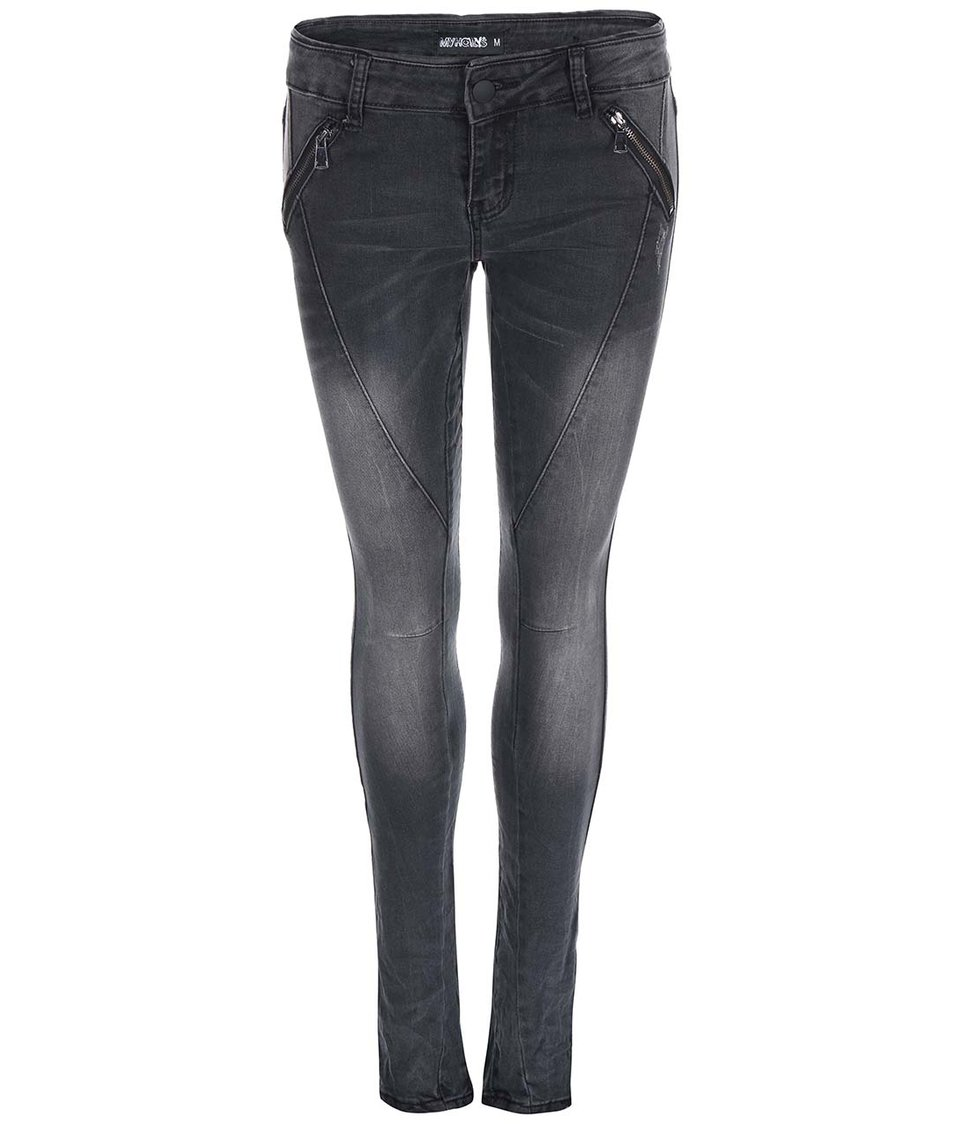Šedé džíny Haily´s Tammy