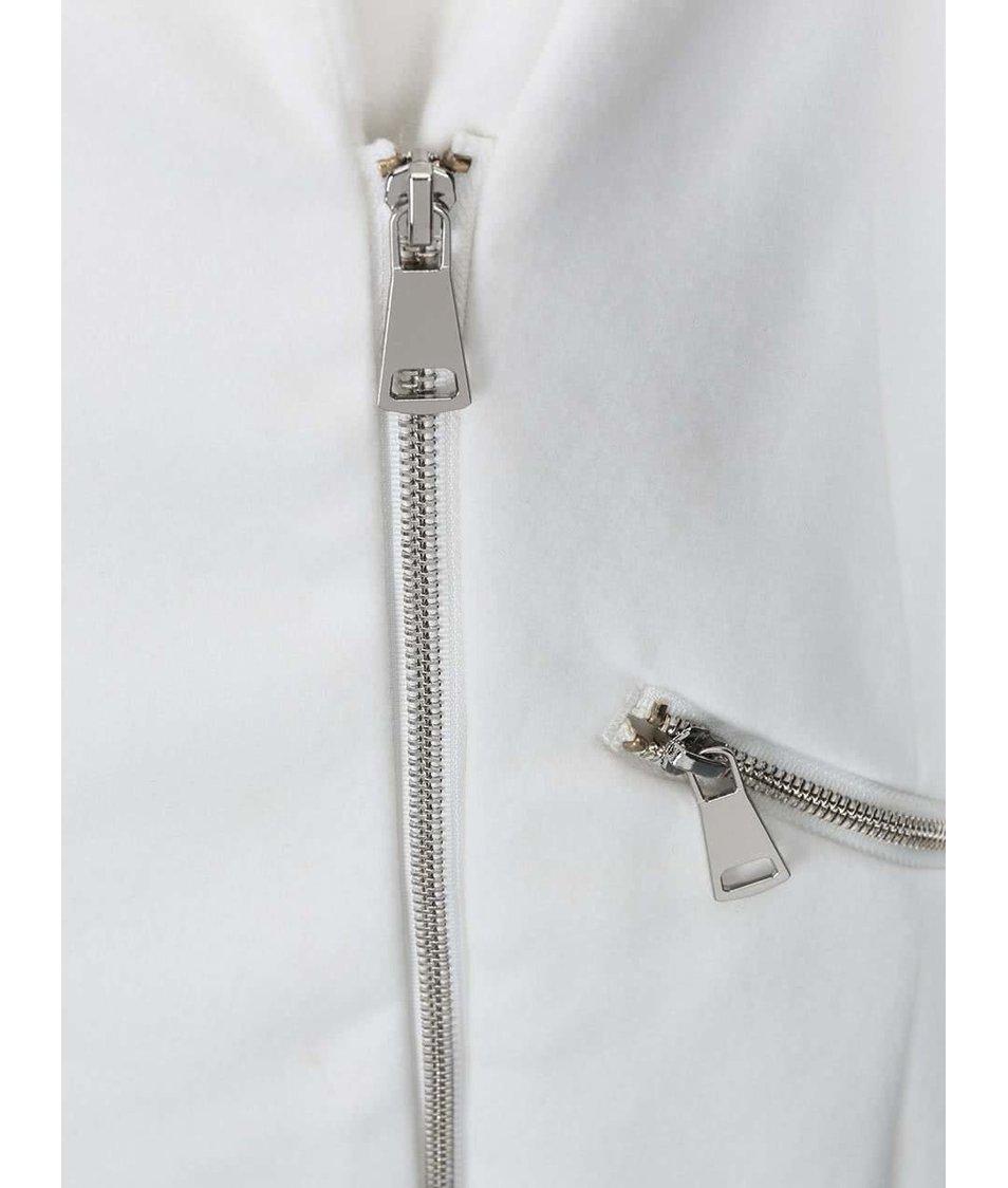 Bílý kabát Haily´s Janine