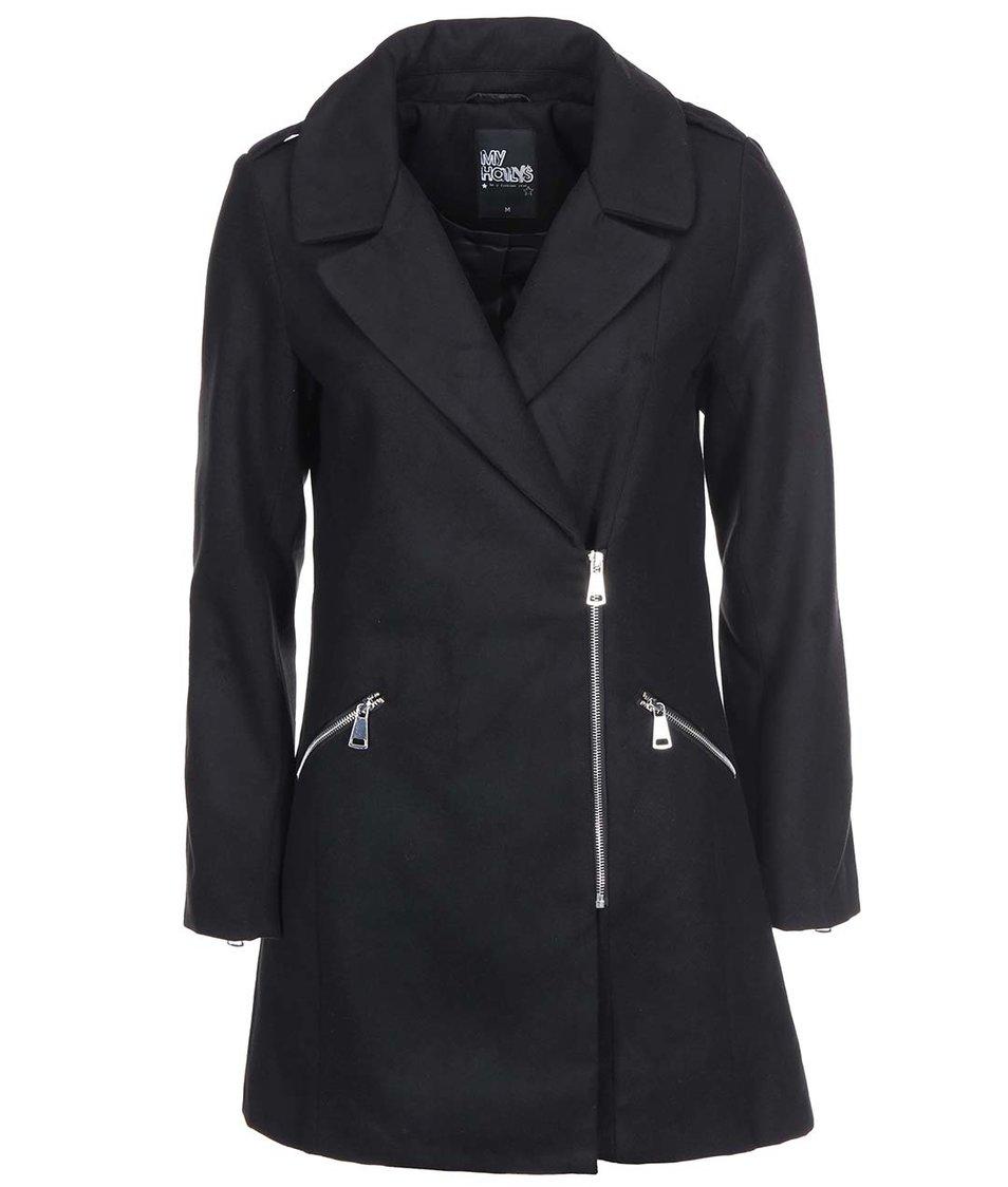 Černý kabát Haily´s Janine