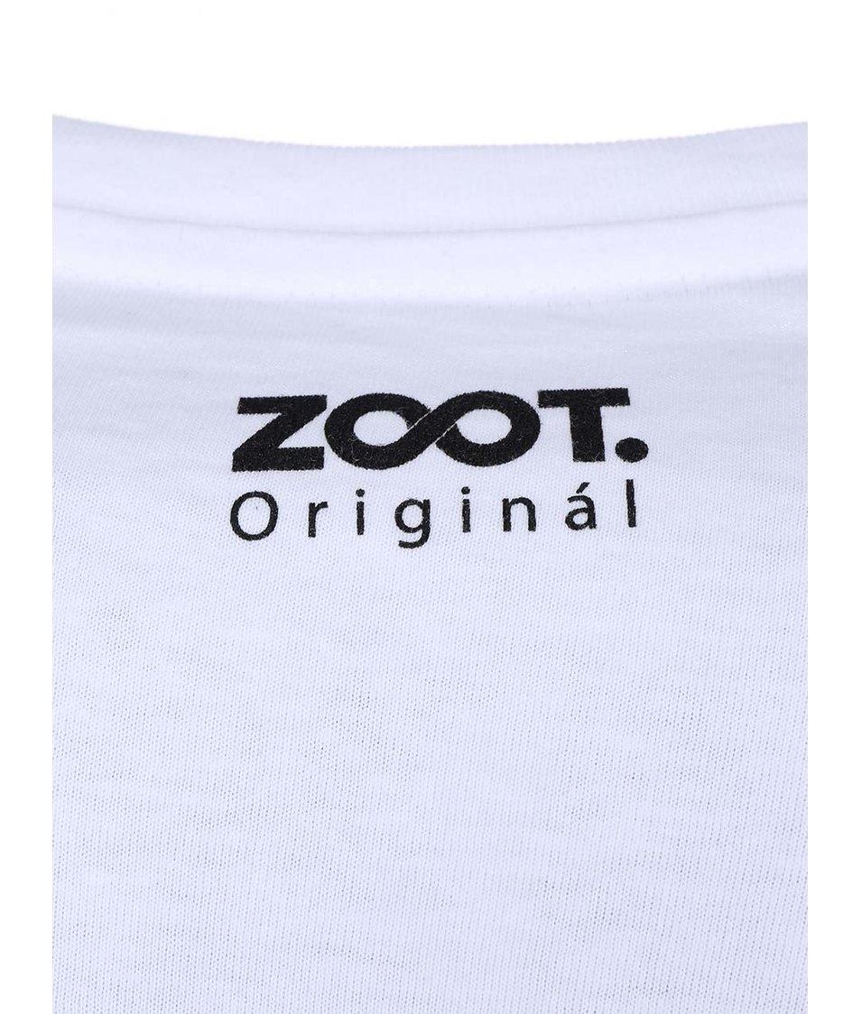 Bílé pánské triko ZOOT Originál Hříšný tanec