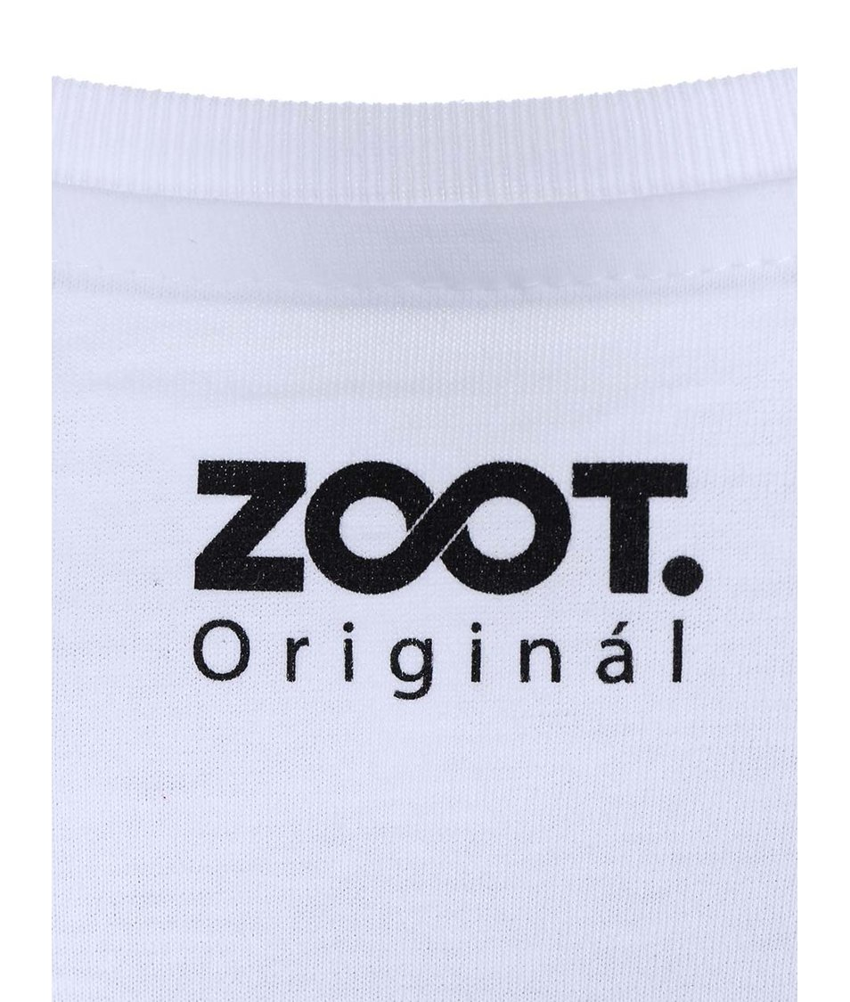 Bílé dámské tričko ZOOT Originál Hříšný tanec