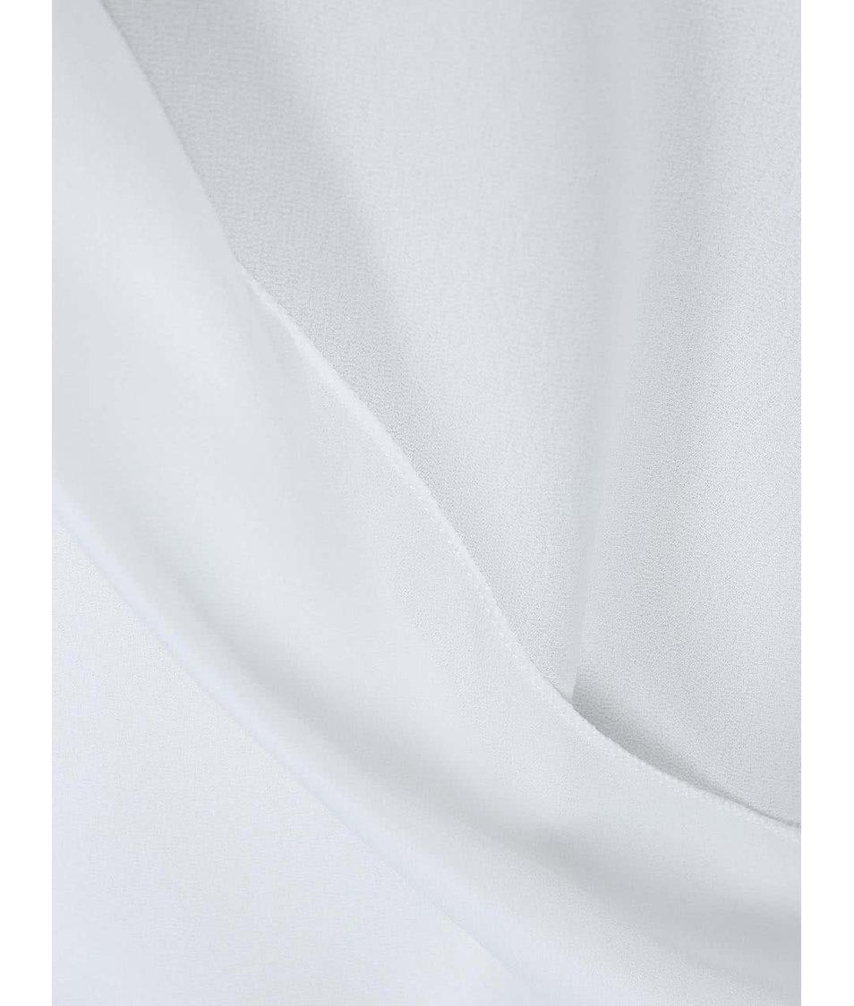Bílý lehce průsvitný top Haily´s Jordan