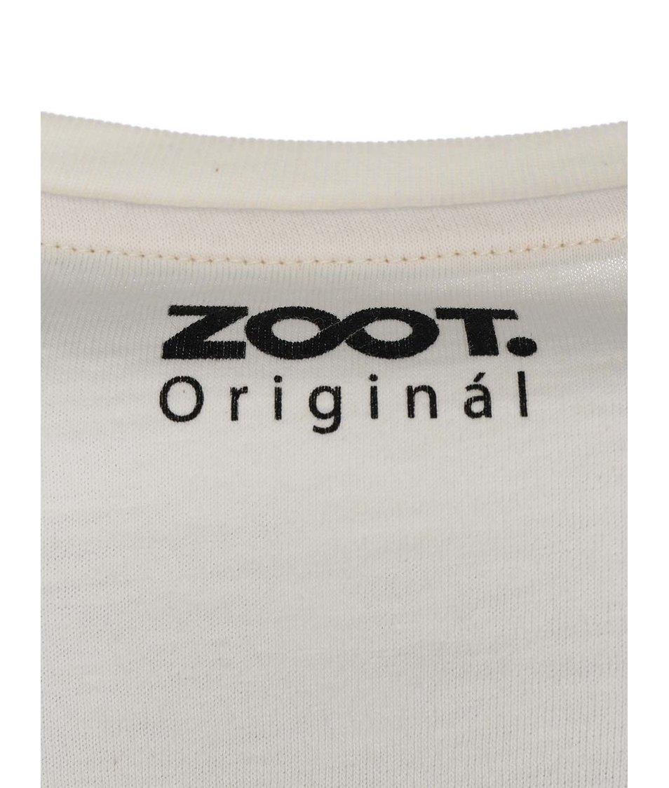Krémové pánské triko ZOOT Originál Kniha byla lepší