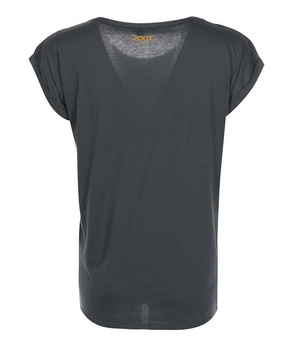 Tmavě šedé dámské tričko ZOOT Originál Pán Prstenů