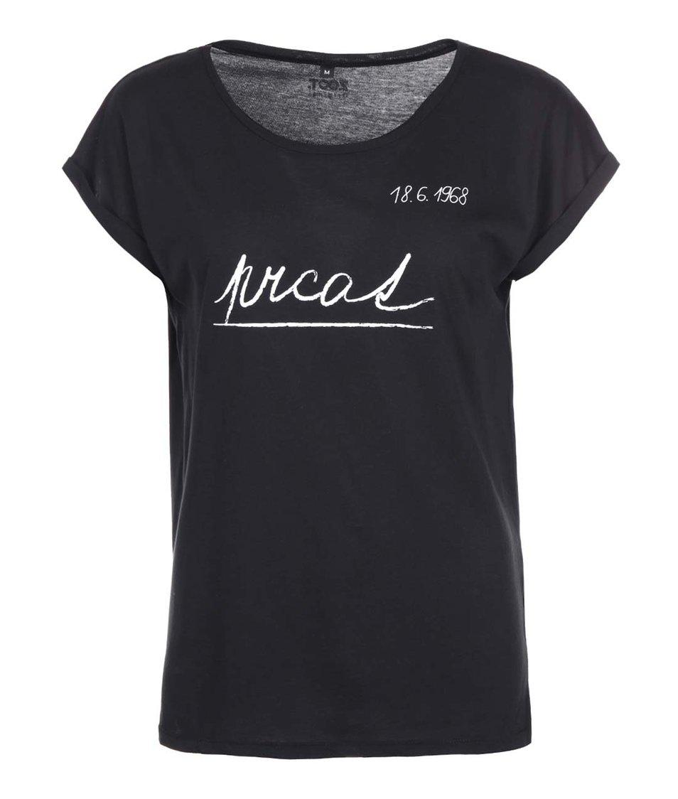 Černé dámské tričko ZOOT Originál Prcat