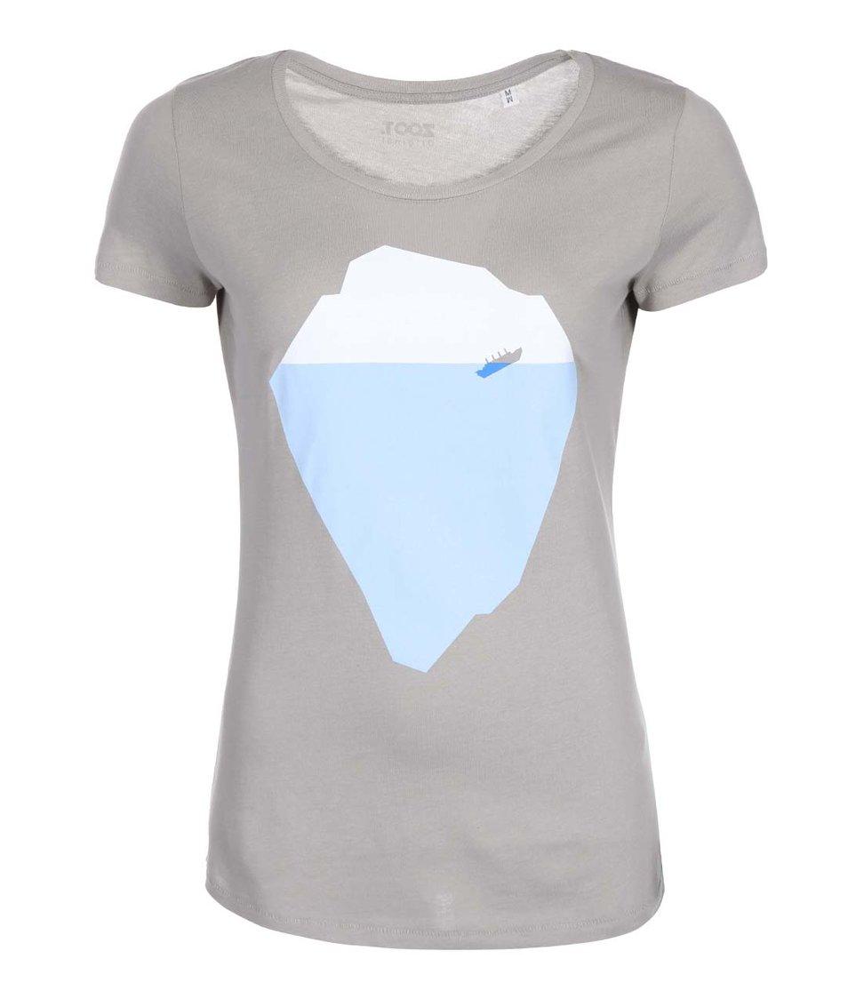 Šedé dámské tričko ZOOT Originál Titanic