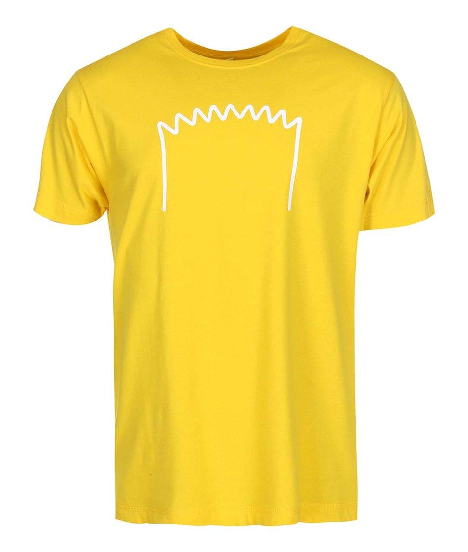 Žluté pánské triko ZOOT Originál Bart
