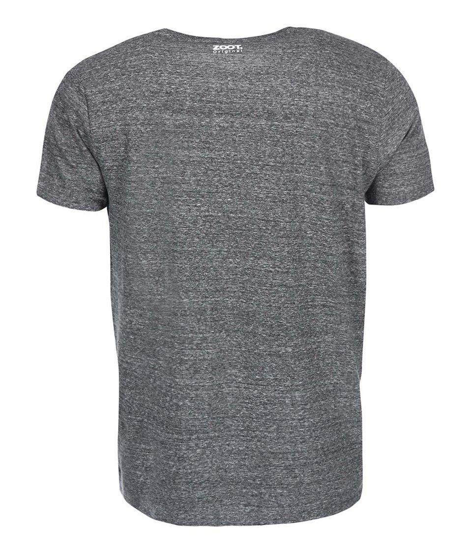 Šedé pánské triko ZOOT Originál Harry jdu do baráku