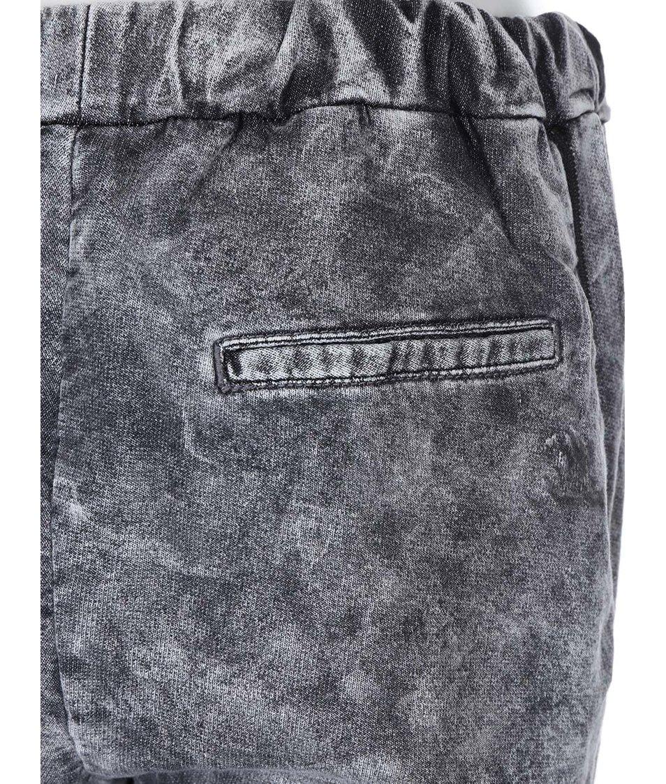 Šedé teplákové kalhoty Noisy May Darren