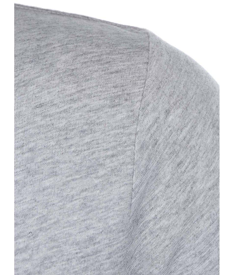 Šedé pánské triko s potiskem Puma City Photo Tee