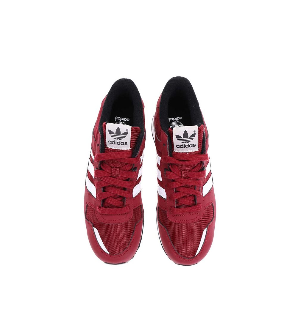 Vínové dámské tenisky adidas Originals 700 K