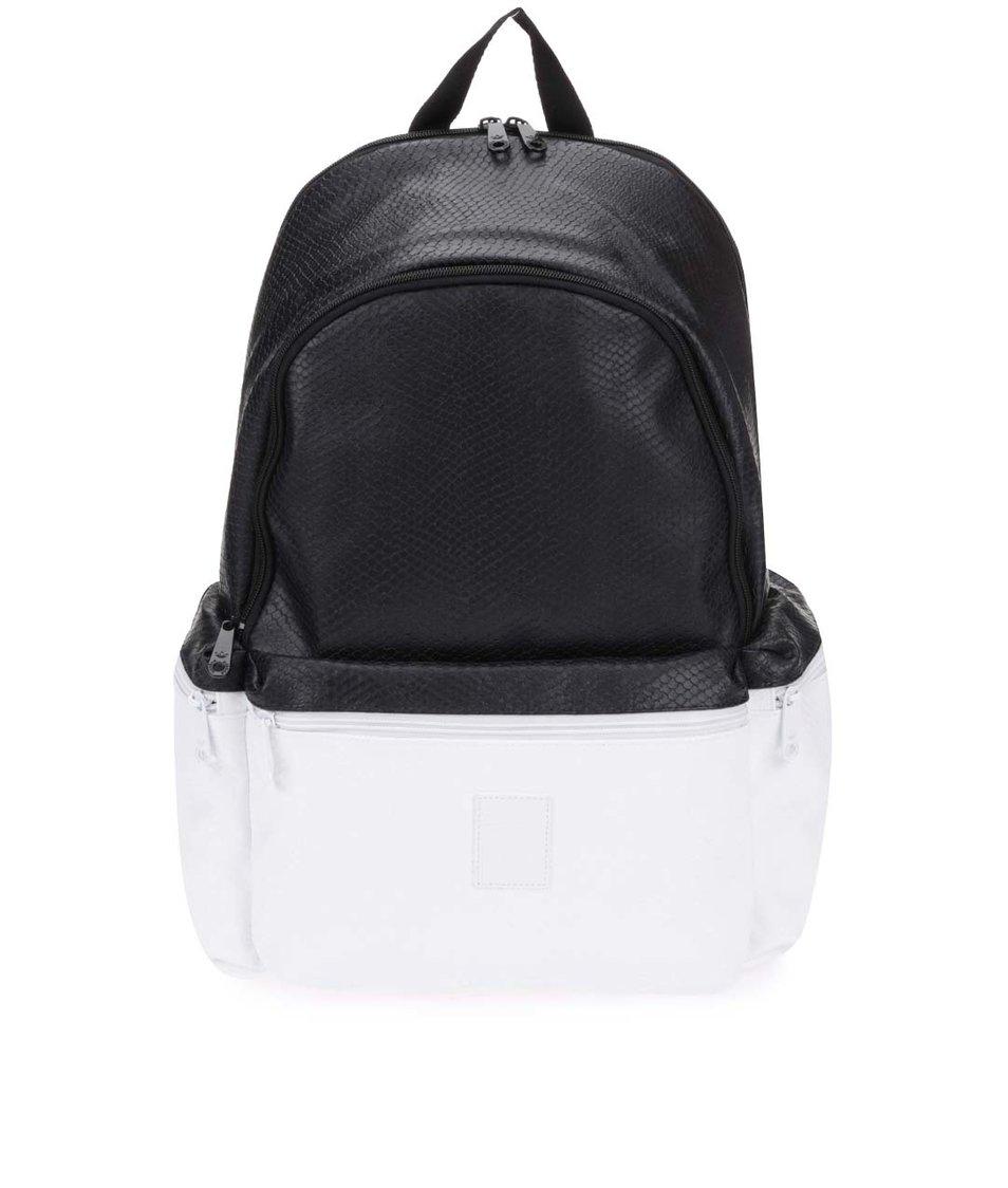 Bílo-černý dámský batoh adidas Originals Snake