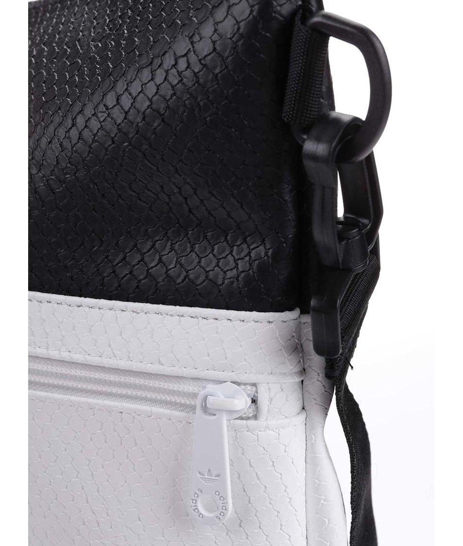 Černo-bílý shopper adidas Originals Snake