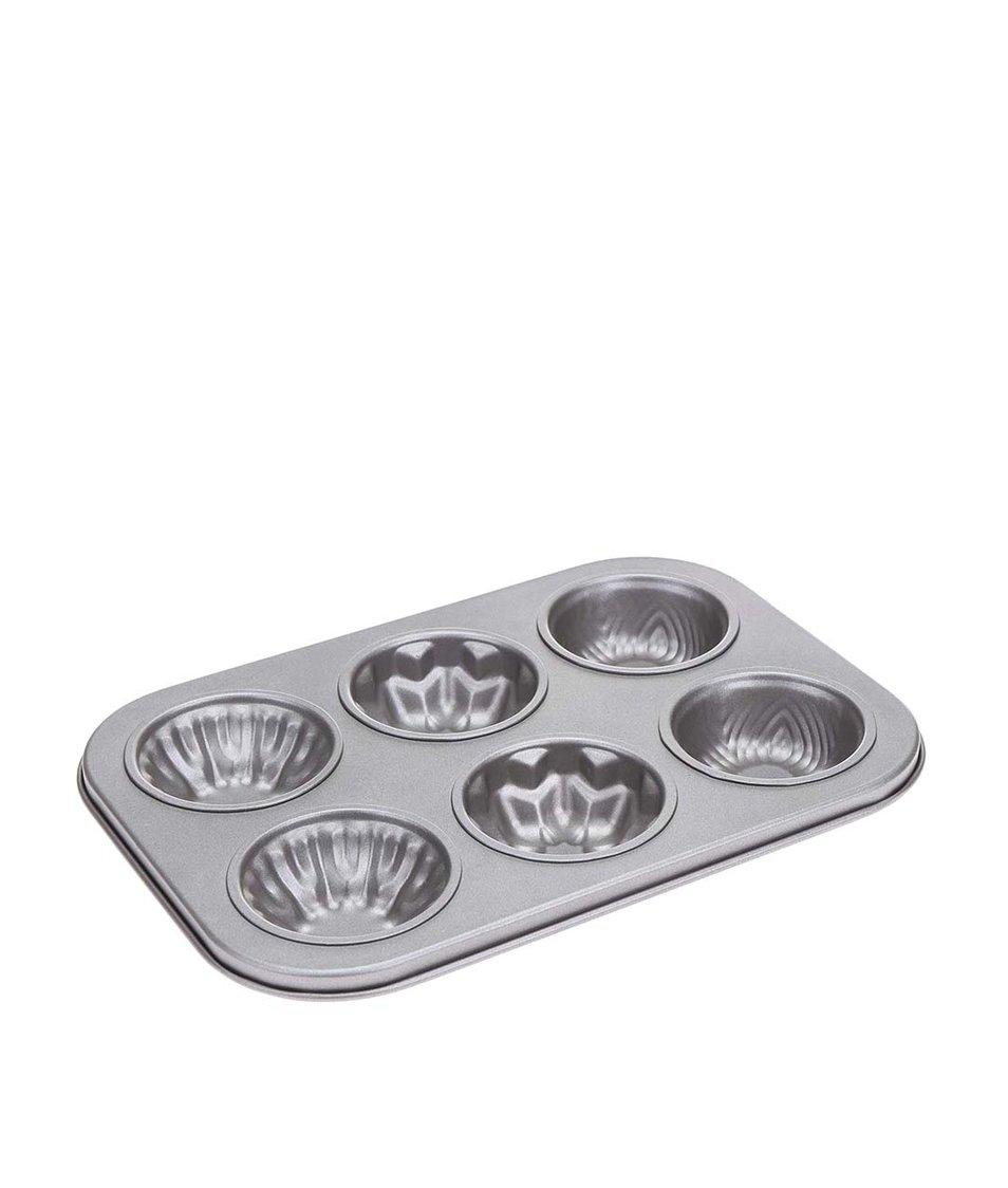 Plechový pekáč s šesti formičkami Kitchen Craft