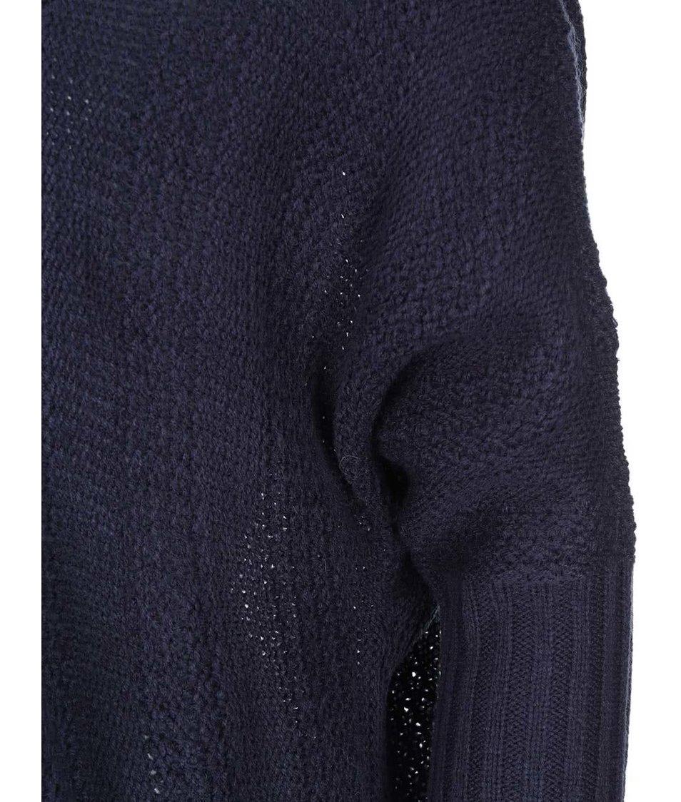 Tmavě modrý cardigan s 3/4 rukávy ONLY Tami