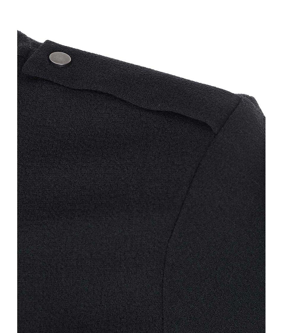Černý delší blejzr Vero Moda Ebru