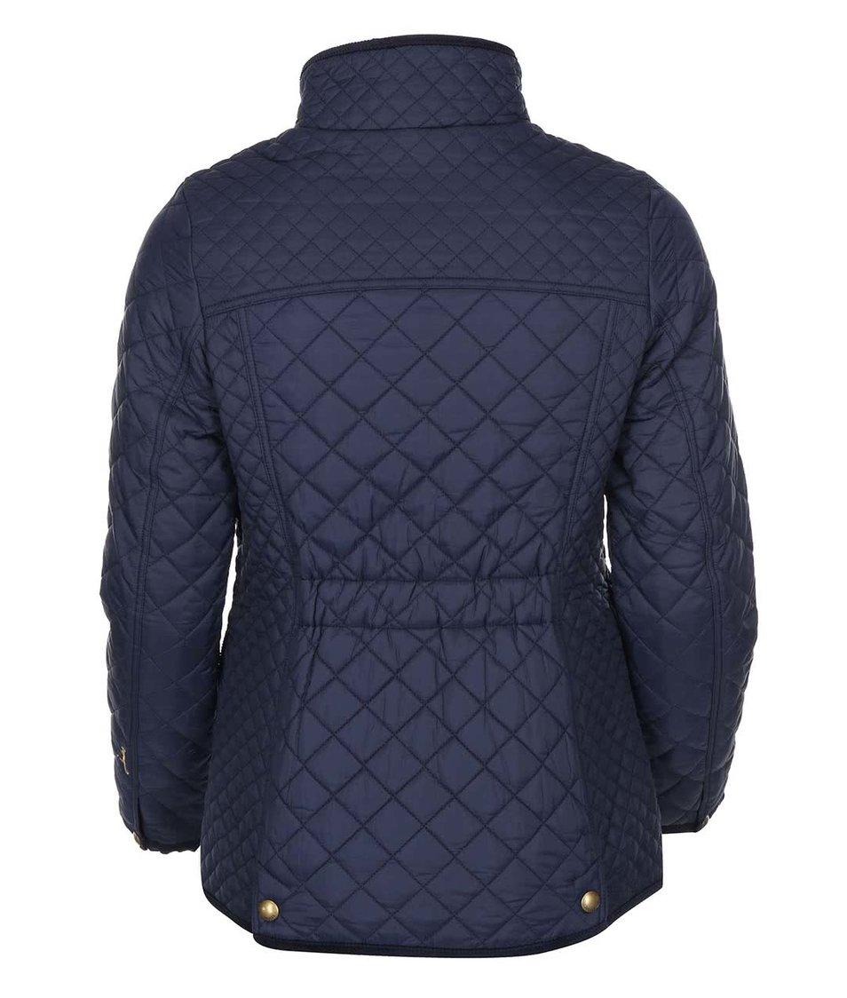 Tmavě modrá prošívaná bunda Tom Joule Newdale