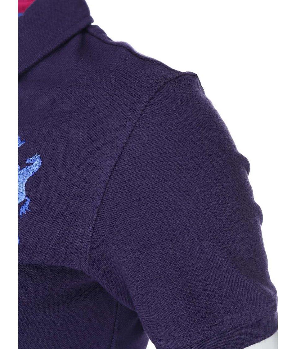 Tmavě modré dámské polo tričko Tom Joule Beaufort