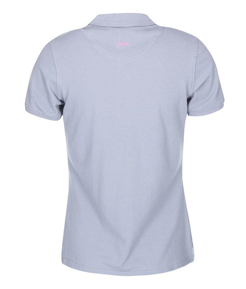 Šedé dámské polo tričko Tom Joule Beaufort