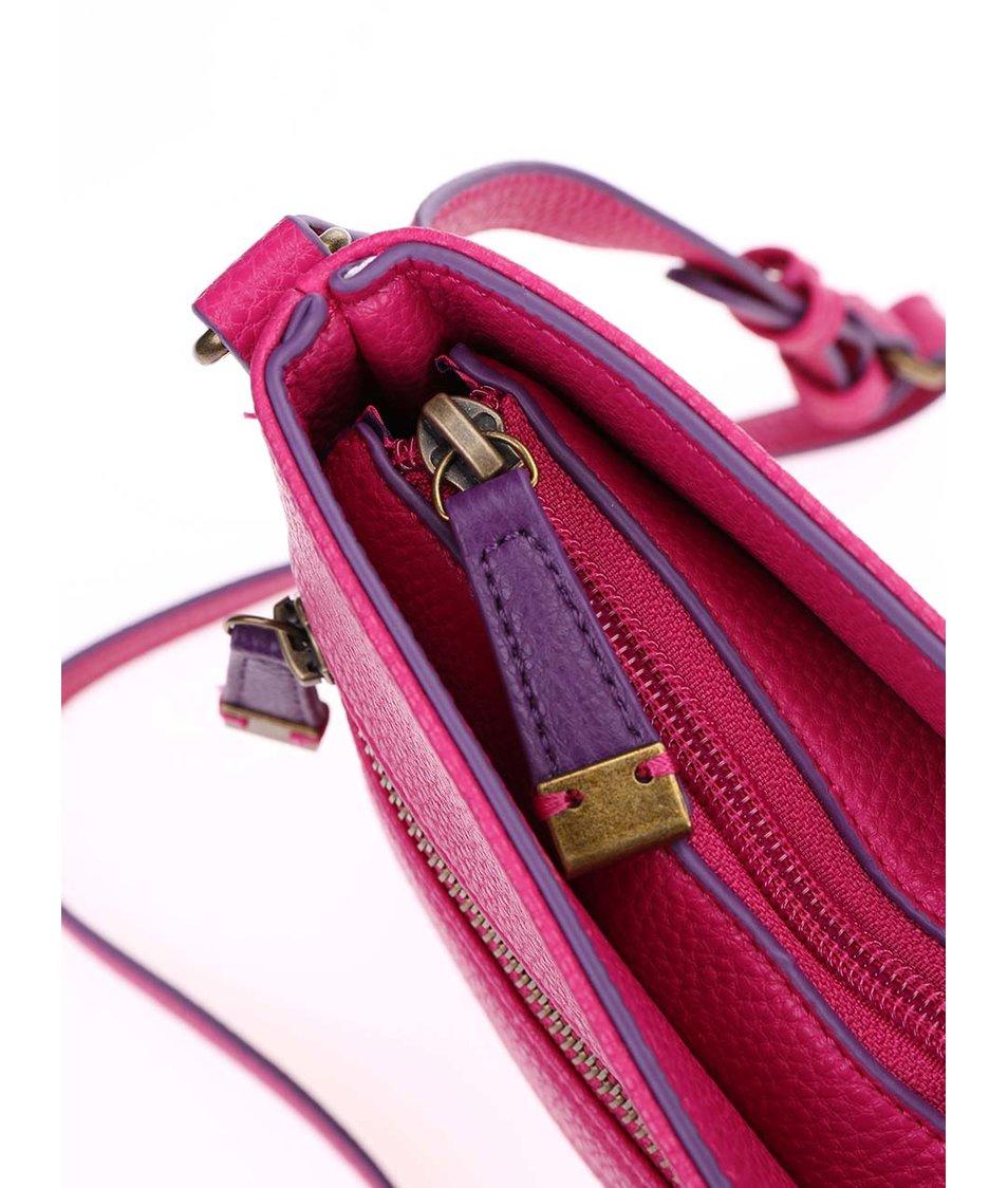 Růžová kabelka přes rameno Tom Joule Camden