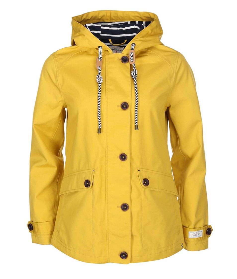 Žlutá dámská nepromokavá bunda s kapucí Tom Joule Coast