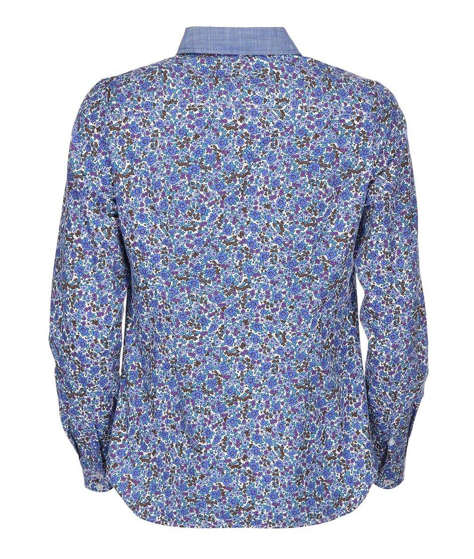 Modrá dámská květovaná košile Tom Joule Kingston