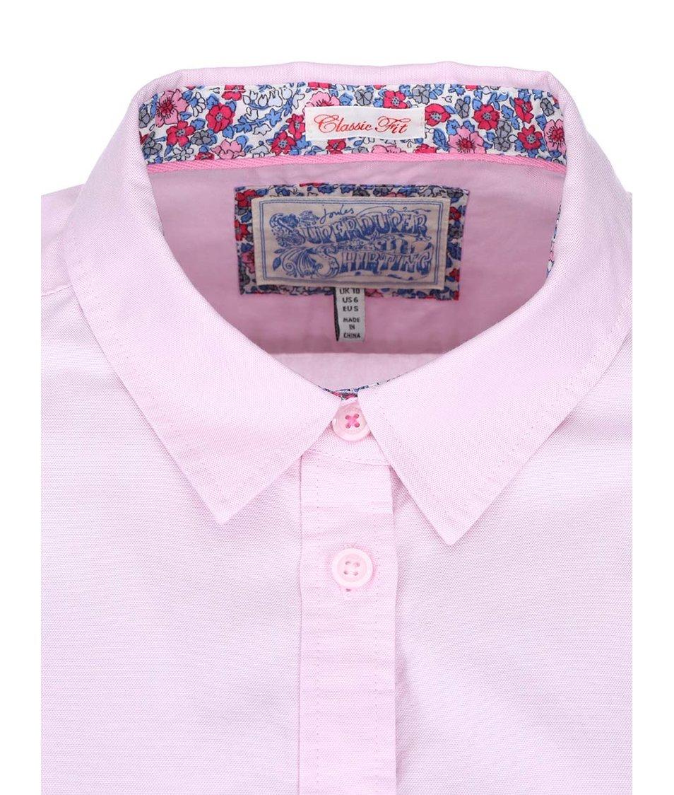 Růžová dámská košile Tom Joule Oxford