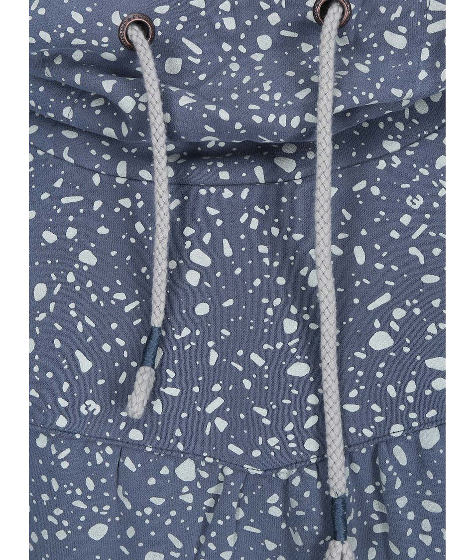 Modrošedá dámská vzorovaná mikina Ragwear Yoda