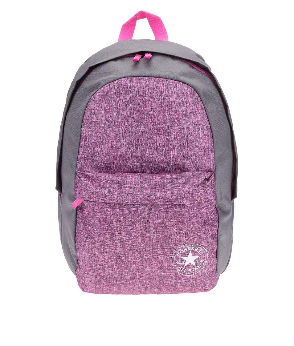 Růžovo-šedý dámský batoh Converse Chuck Taylor All Star