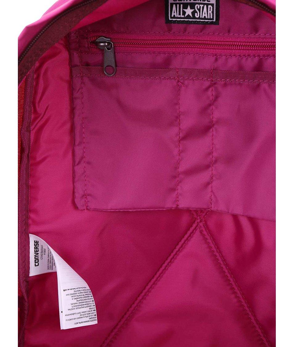 Růžový dámský batoh Converse Chuck Taylor All Star