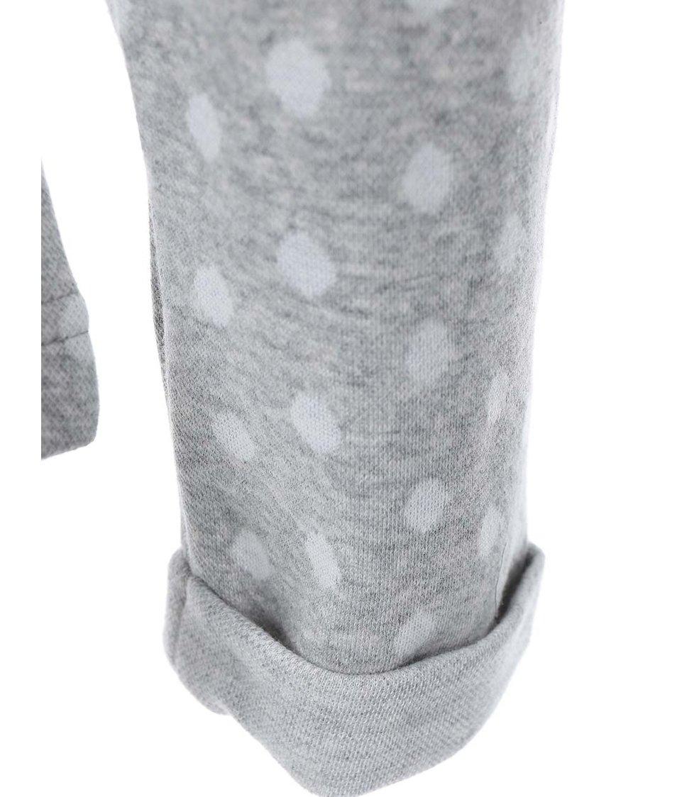 Světle šedá puntíkovaná mikina Ragwear Gama