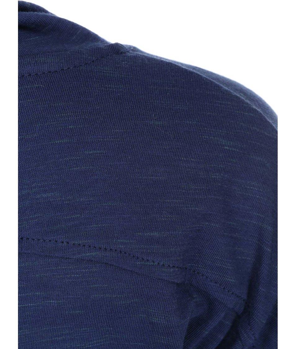 Tmavě modré dámské tričko s límcem Ragwear Highway