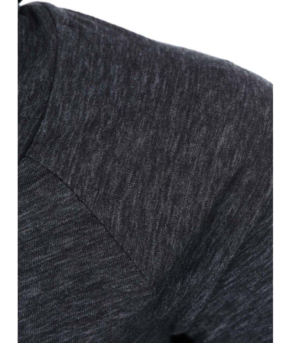 Tmavě šedý dámský dlouhý rolák Ragwear Jule