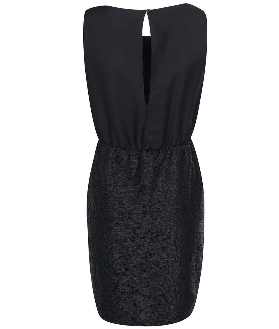 Černé pouzdrové šaty VILA Lassie