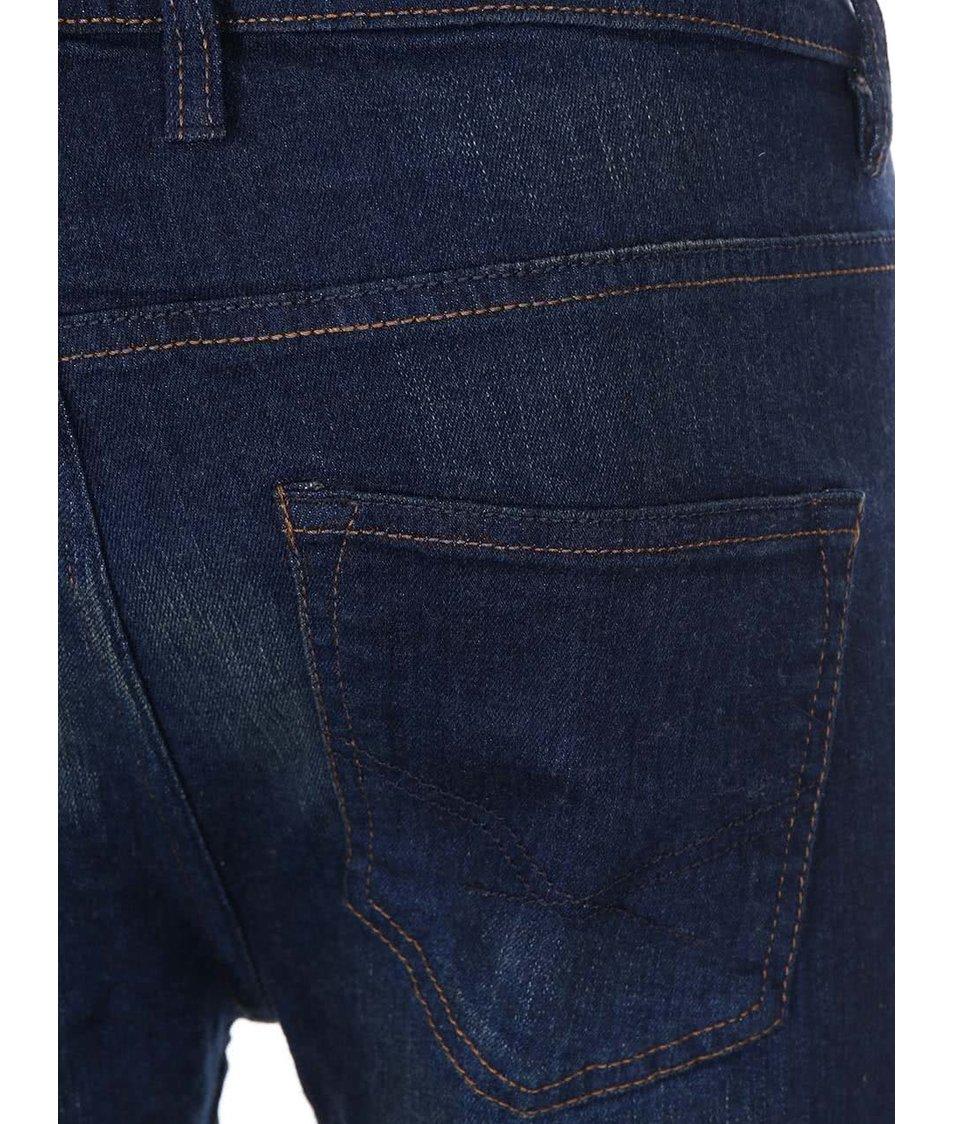 Modré skinny džíny D-Struct Burner
