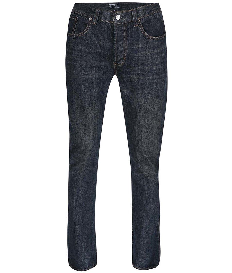 Tmavě modré džíny D-Struct Adler